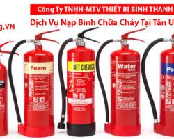 Nạp Bình Chữa Cháy Tại Tân Uyên
