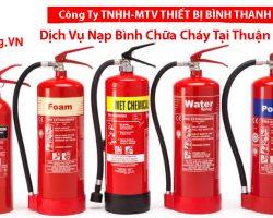 Nạp Bình Chữa Cháy Tại Thuận An